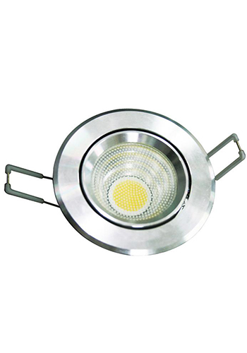 车铝式LED筒灯